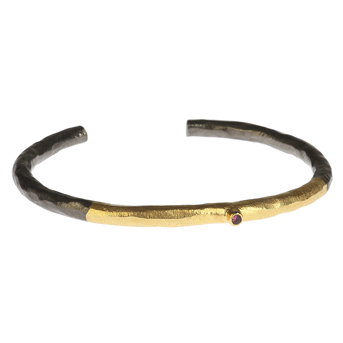 GOLD RED BANGLE