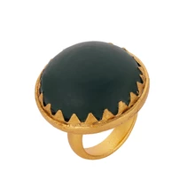 Load image into Gallery viewer, INCA GREEN ONYX RING