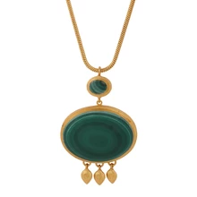 JAISALMER MALACHITE NECKLACE