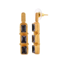 Load image into Gallery viewer, PERSIA IOLITE EARRINGS