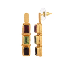 Load image into Gallery viewer, PERSIA MULTISTONES EARRINGS