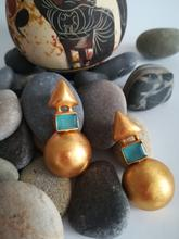 Load image into Gallery viewer, TRACIA BLUE EARRINGS