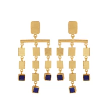 TUMBUCTU LAZULI EARRINGS