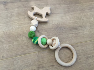 Shaped Teether Stack