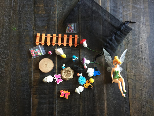 DIY Fairy Garden Miniatures Starter Pack