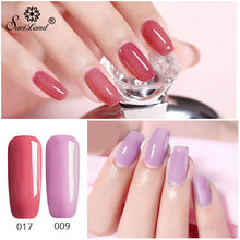 Load image into Gallery viewer, 3 In 1 Gel Nail Varnish Pen Glitter One Step Nail Art Gel Polish Hybrid 60 Colors Easy To Use UV Gel Lacquer