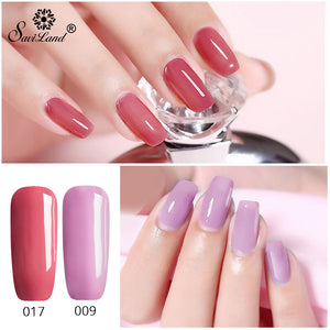 3 In 1 Gel Nail Varnish Pen Glitter One Step Nail Art Gel Polish Hybrid 60 Colors Easy To Use UV Gel Lacquer