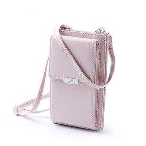 Cell Phone Wallet Card Holders Wallet Handbag Purse Clutch Messenger Shoulder Straps Bag
