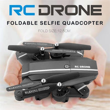 Load image into Gallery viewer, 2019 NEW Drone Wifi FPV Quadcopter G-sensor Altitude Hold Foldable Selfie RC Drones with HD Camera Done Videos