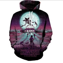 Load image into Gallery viewer, Stranger Things  Fashion 3D Print Hooded Hoodie Sweater  Sweatshirt