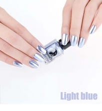 Load image into Gallery viewer, 14 Color 6ML Women Fashion Sexy New Metallics Nail Polish Mirror Nail Polish Beauty Makeup Accessories