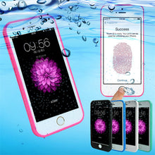 Load image into Gallery viewer, Waterproof Case for iPhone X 10 Transparent Soft TPU Diving Swimming Cases for iPhone 6 6s 7 8 Plus Water Bag