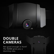 Load image into Gallery viewer, SG900 New Upgraded Dual FPV HD Camera RC Drone Gravity Sensing + Optical Flow Positioning + Dual Camera Switching + Auto Follow