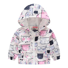 Load image into Gallery viewer, Toddler Baby Coat Infant Waterproof Hoodies