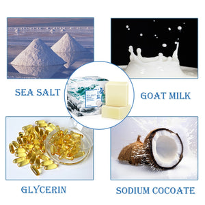 sea salt for whitening and moisturizing skin