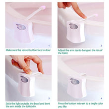 Load image into Gallery viewer, 8 or 16 Colors Human Motion Sensor Toilet  Must Buy