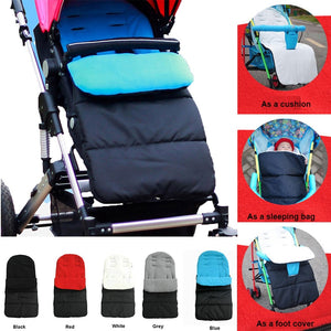 1PC Waterproof Baby Stroller Sleeping Bag Autumn for Kids Winter Warm Pushchair Newborn Sack