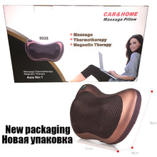 Load image into Gallery viewer, electric massage pillow hot selling