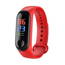 Load image into Gallery viewer, M3 Smart sports watch Women Smart Watch Men Heart Rate Blood Pressure Monitor Fitness Tracker Pedometer Watch