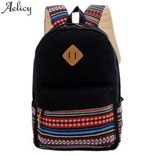 Load image into Gallery viewer, Aelicy Women Backpack ! Rucksack Girls School Bag Satchel Travel Canvas Boys Backpack bags for women 2019 mochila feminina