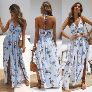 Women Maxi Long  summer Dress
