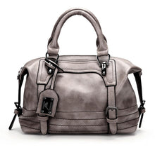 Load image into Gallery viewer, European beauty oil wax leather shoulder handbag ladies bag