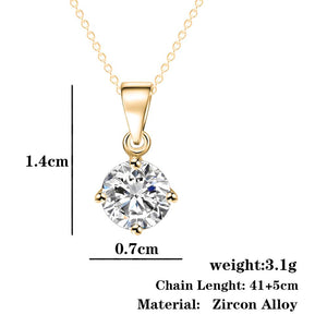 Fashion Gold Chain Wedding Necklace for women
