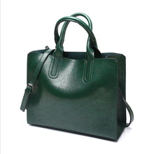 Load image into Gallery viewer, Leather Handbags Big Women Bag Female Bags Trunk Tote Shoulder Bag