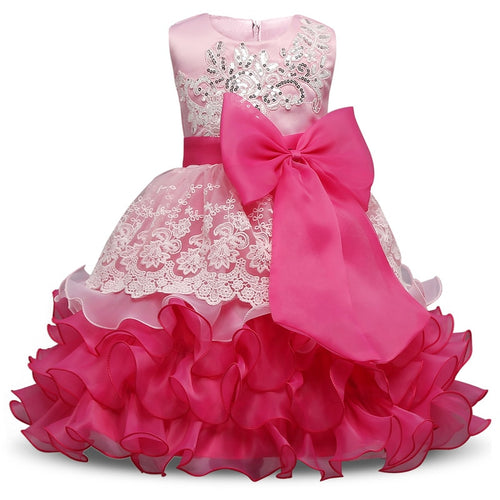 Wedding Birthday Kids Party Wear dress