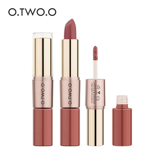 2 in 1 Matte Lipstick Waterproof