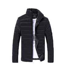 Load image into Gallery viewer, Fall-Men Solid Long Sleeve Cotton Padded Good Selling Jackets Coats