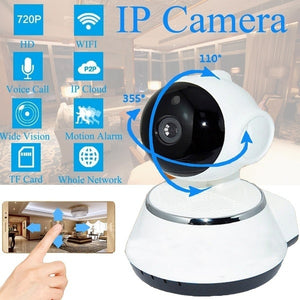 1080P V380 HD Wifi Wireless IP Camera Pan Tilt Surveillance CCTV Cameras Baby Monitor Home Security