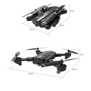 SG900 New Upgraded Dual FPV HD Camera RC Drone Gravity Sensing + Optical Flow Positioning + Dual Camera Switching + Auto Follow