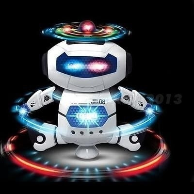 Nice Gifts for Children Boys  Electronic Walking Dancing Smart Space Robot Astronaut Kids Music Light Toys SNTRE