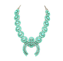 Load image into Gallery viewer, high quality  squash blossom necklace latest women