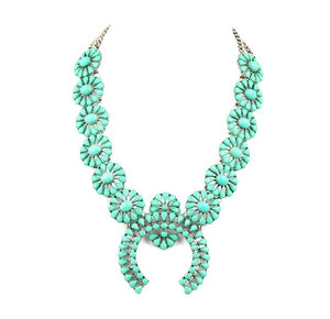 high quality  squash blossom necklace latest women