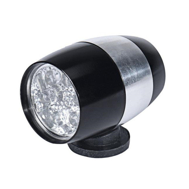 1PC Waterproof Bike Light Cycling Head Lamp 6 LED Light Bicycle Flash Safety