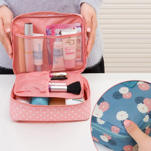 Brand Large-capacity Portable Toiletry Cosmetic Bag