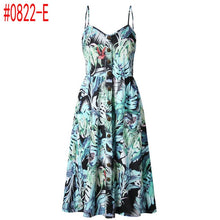 Load image into Gallery viewer, Summer Women Dress 2019 Vintage Sexy dress