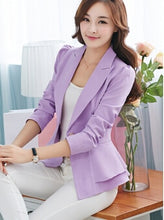 Load image into Gallery viewer, Spring&Autumn Bomber Jacket Women Long-Sleeved Suit