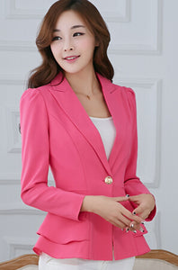 Spring&Autumn Bomber Jacket Women Long-Sleeved Suit