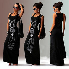 Load image into Gallery viewer, Women Summer Long Dress 2018 Sexy Casual