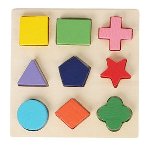 Candywood Wood Geometric Shape kids