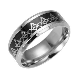 Best selling 2018 products Stainless Steel Masonic Rings for Women