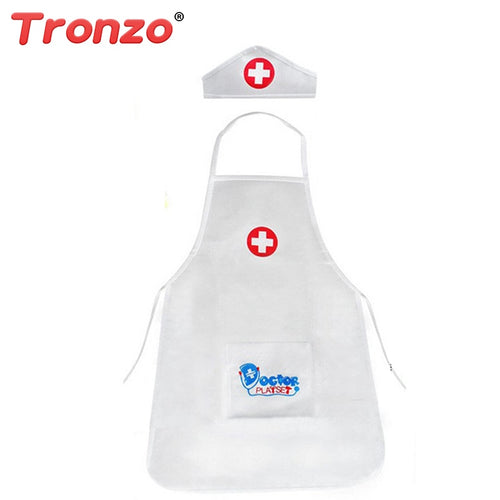 Tronzo 2018 New 1Pcs Pretend Play Doctor Clothing Toys kids