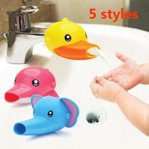 Hand washing toys Faucet Extender For Helps Children Toddler Kids