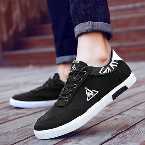2018 Spring Comfortable Casual Shoes Mens Canvas Shoes