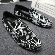 Load image into Gallery viewer, Fashion Genuine Leather Men's Shoes