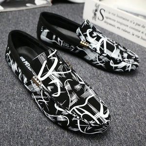 Fashion Genuine Leather Men's Shoes