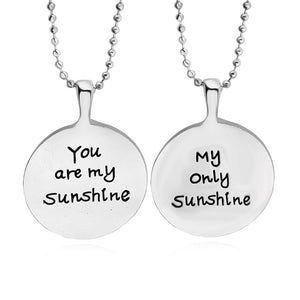 Hot Selling You Are My Sunshine My Only Sunshine Pendant